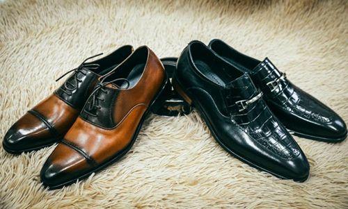cách chọn giày da nam công sở