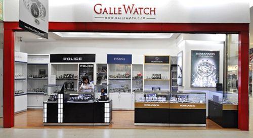 Cửa hàng bán đồng hồ dây da