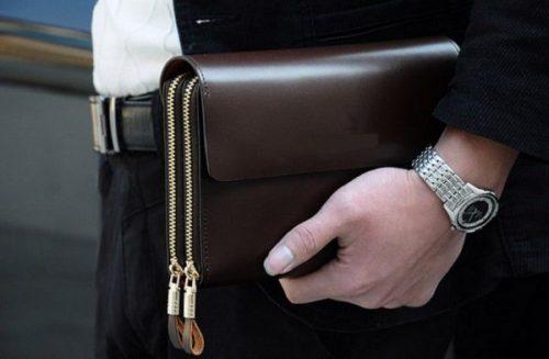 mua ví cầm tay nam