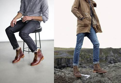 phối đồ với giày nam