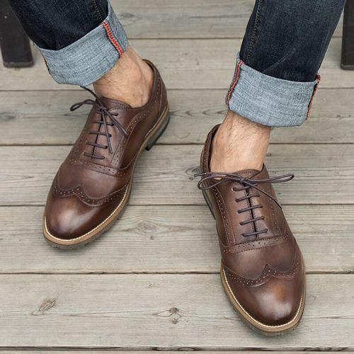 cách bảo quản giày da nam