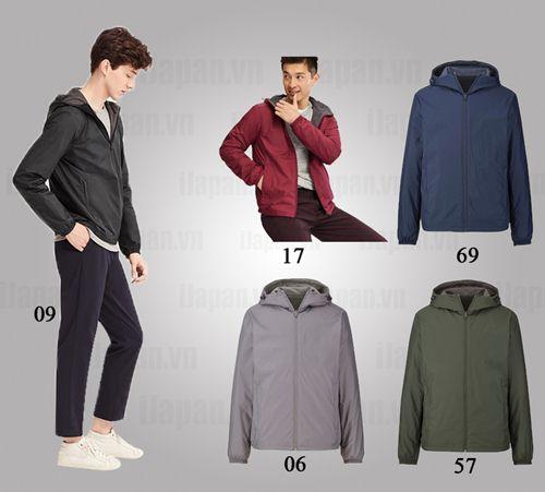 các loại áo khoác nam