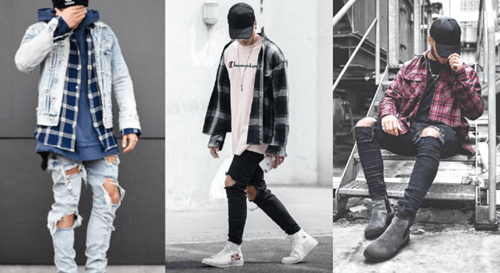 quần jean rách