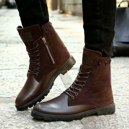 giày boot cổ cao