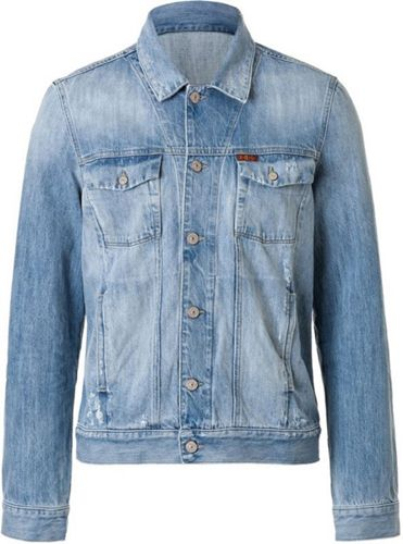 áo khoác jean nam hàng hiệu