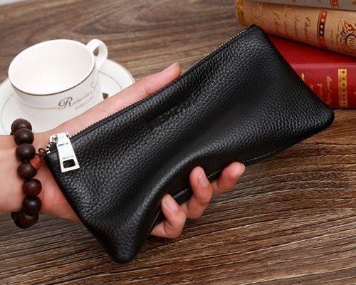 cách làm ví da handmade đơn giản