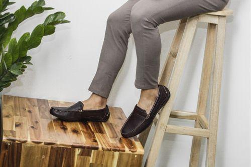 cách làm bóng giày da