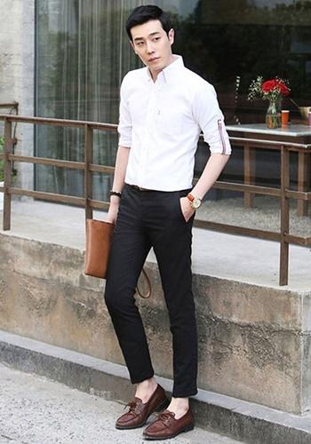 áo sơ mi trắng nam cao cấp