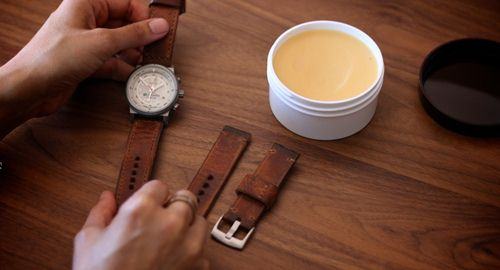 dây đồng hồ da thật