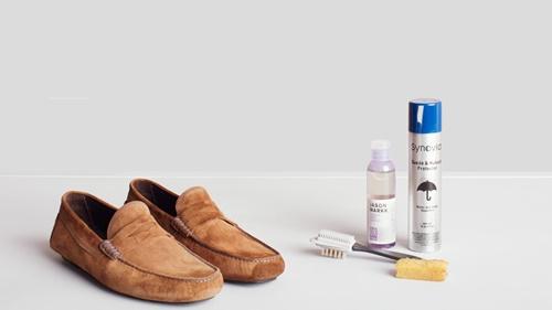 bảo quản giày da bò