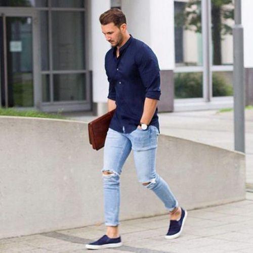 giày slip on nam