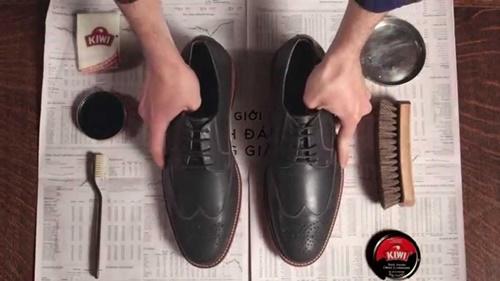 giày tây nam da bò