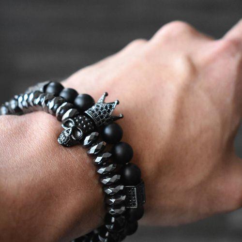 cách đeo vòng tay nam