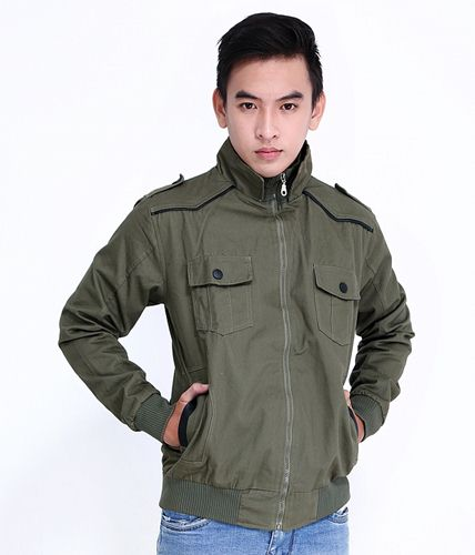 áo khoác nam kaki cao cấp