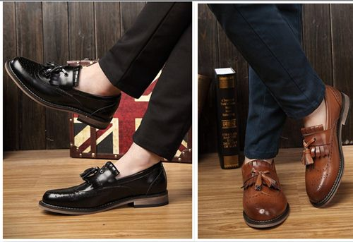 cách phối giày lười nam