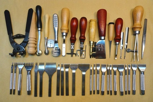 công cụ làm đồ da