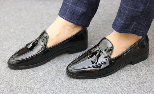 vệ sinh giày lười
