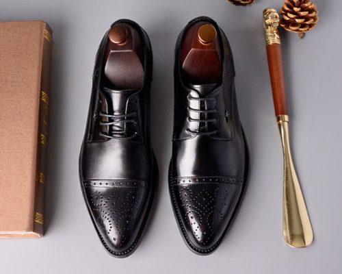 chọn giày da cho nam