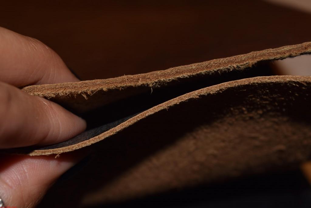 da thuộc làm ví