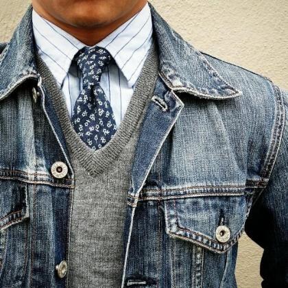 áo khoác jean nam cao cấp