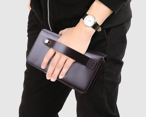 ví da cầm tay cao cấp