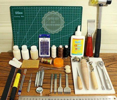 dụng cụ làm da handmade tphcm