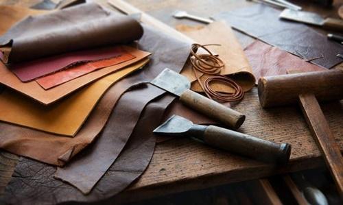 dụng cụ làm da handmade