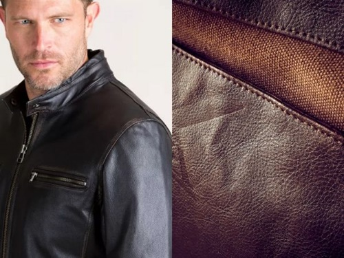 áo khoác da nam