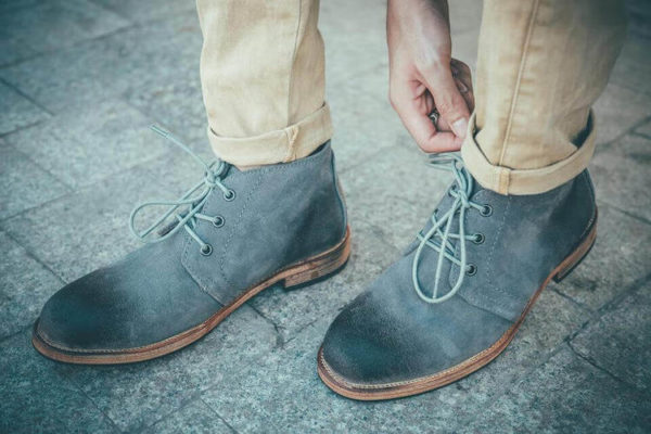 giày da lộn nam