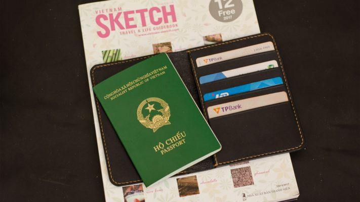 ví đựng passport nam