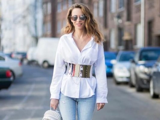 áo sơ mi trắng nữ