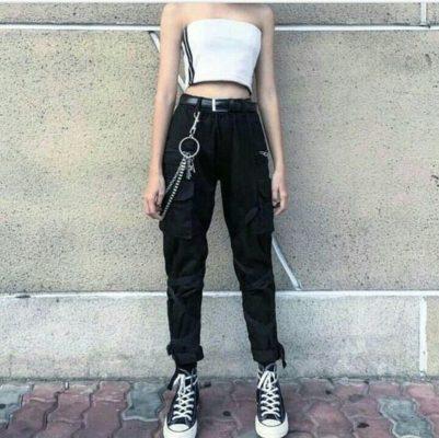 quần kaki nữ