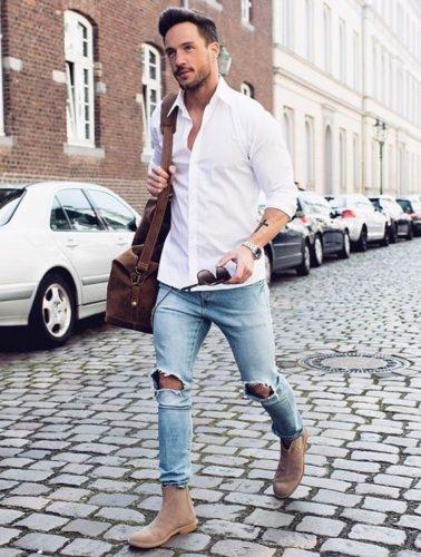áo sơ mi trắng nam