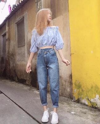 quần Baggy nữ