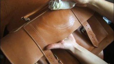cách giặt cặp da