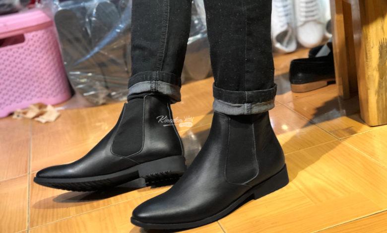 giày da cổ cao nam