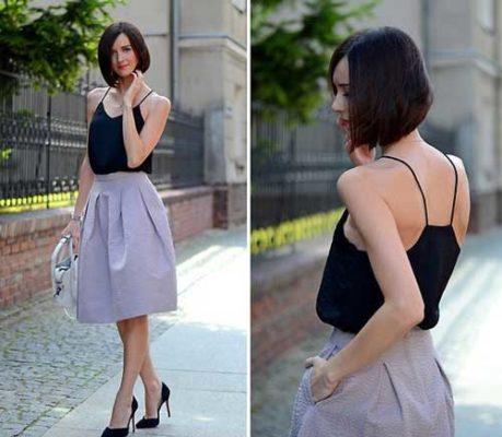 váy xòe
