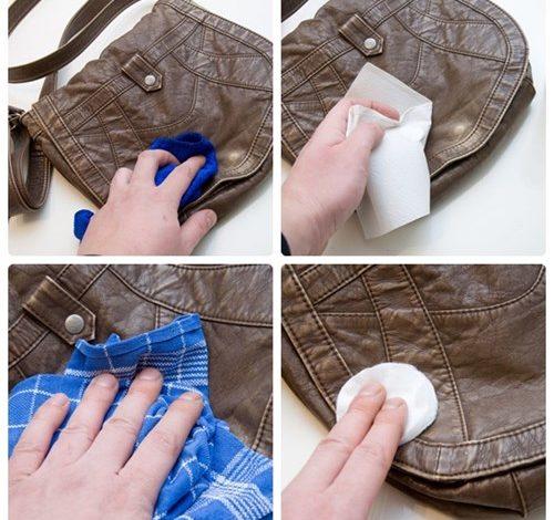 vệ sinh túi da