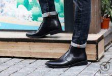 giày da nam cao cổ
