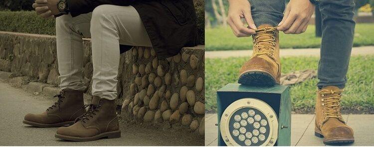 giày cao cổ nam hàng hiệu