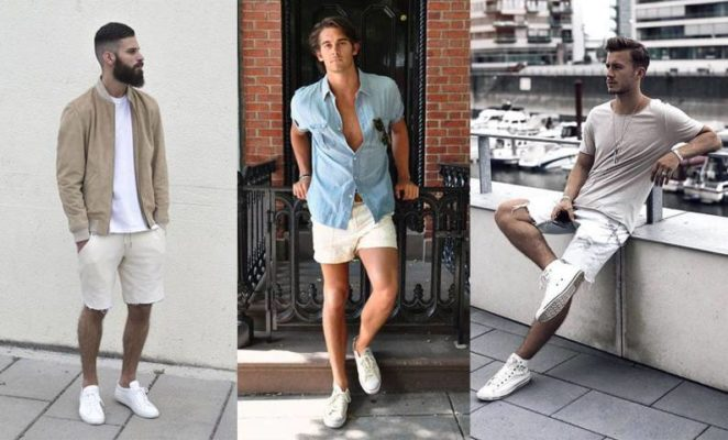 giày trắng nam