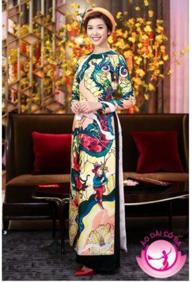 mẫu áo dài đẹp