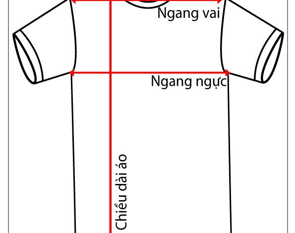 size áo nam