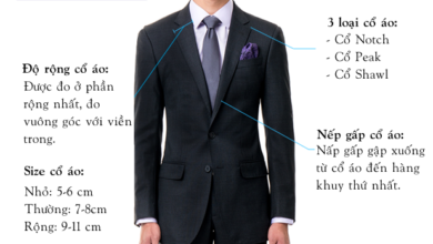 chọn cà vạt