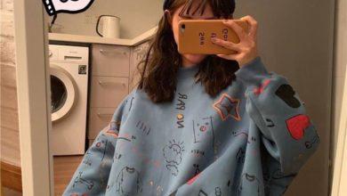 áo sweater form rộng