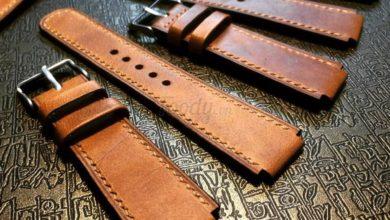 dây đồng hồ da bò handmade