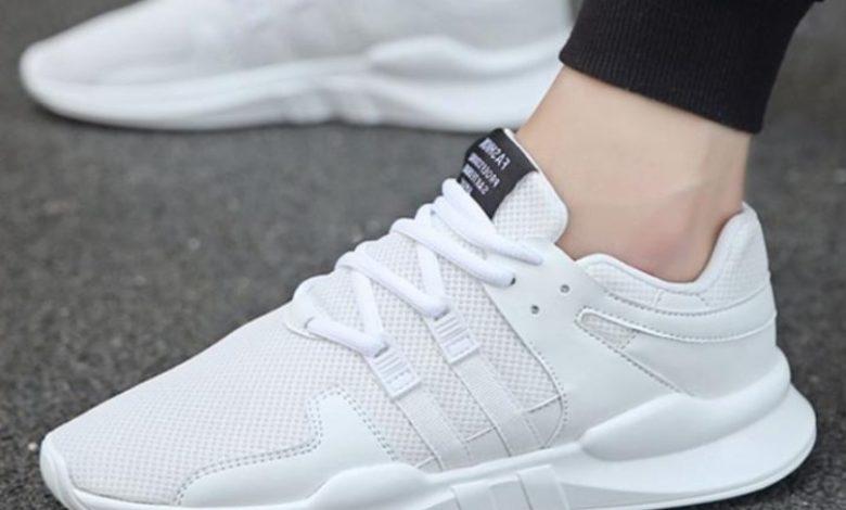 giày nam trắng