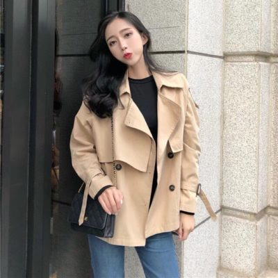 áo khoác kaki nữ