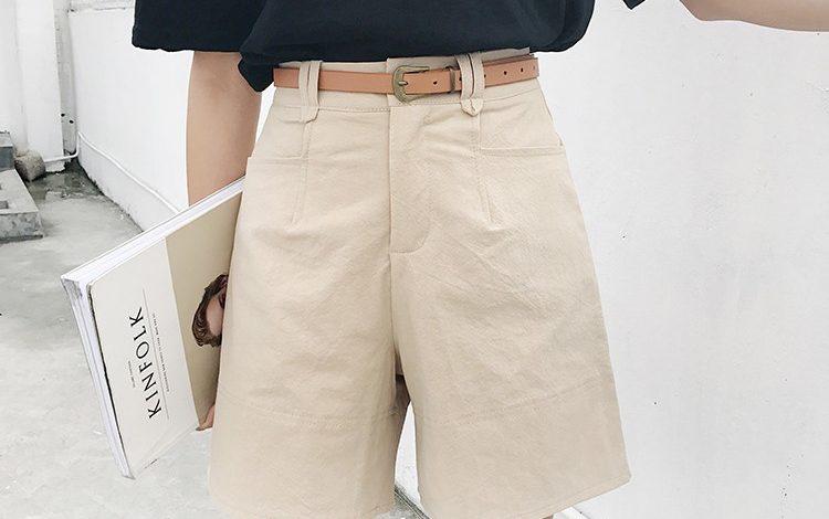 quần short kaki nữ