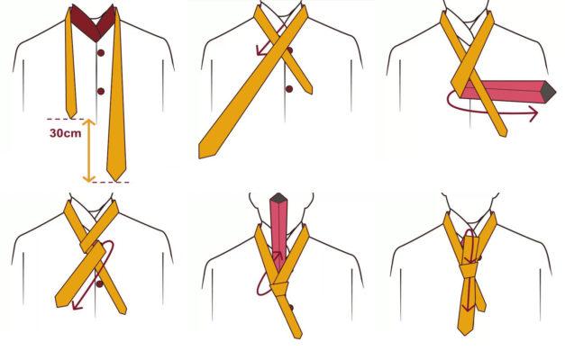 hướng dẫn cách thắt cà vạt